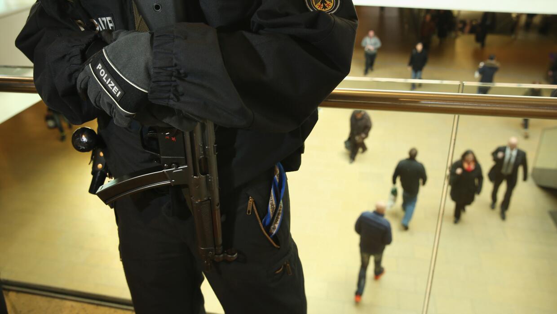 Seguridad en Hanover, Alemania.