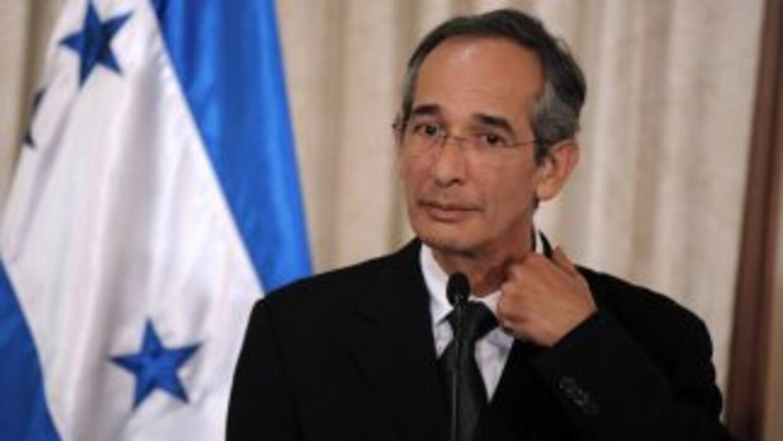 """Guatemala está """"llena"""" de integrantes de Los Zetas, aseguró el president..."""