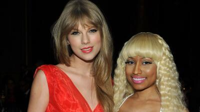 Taylor Swift y Nicki Minaj
