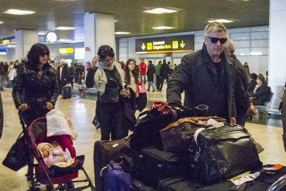El actor y sus dos amores viajaron a Barcelona, pudimos ver que la peque...