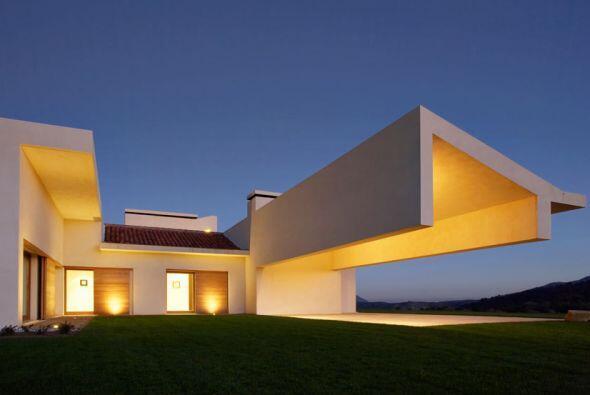 Ésta es la casa que el arquitecto Joaquín Torres hizo para Zinedine Zidane.