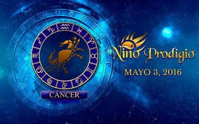 Niño Prodigio - Cáncer 3 de mayo, 2016