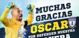 Óscar Pérez firma una vez más con Pachuca.