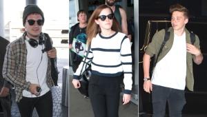 Los famosos y sus looks modernos
