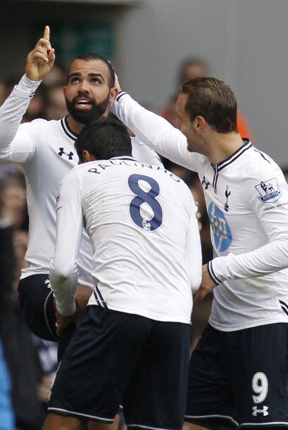 Pero para el segundo tiempo el Tottenham fue el equipo que se puso nueva...