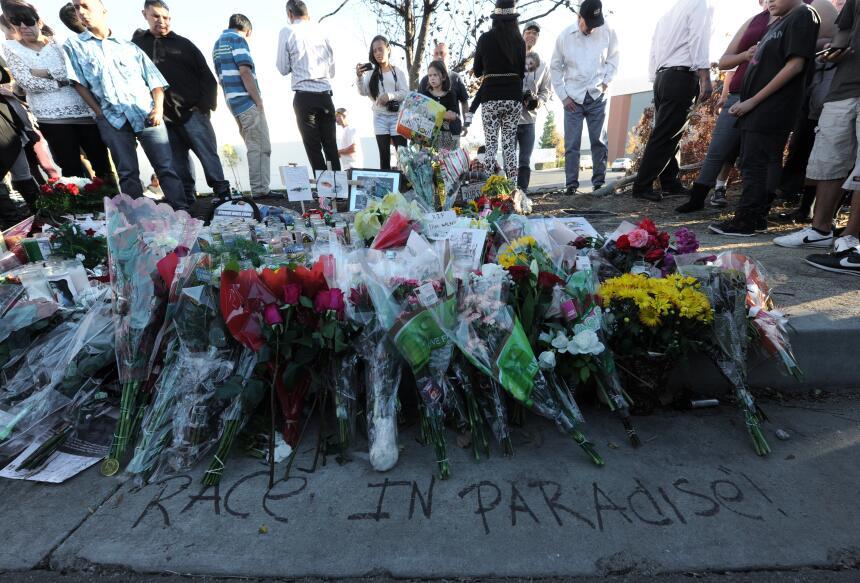 Imágenes del lugar del accidente.