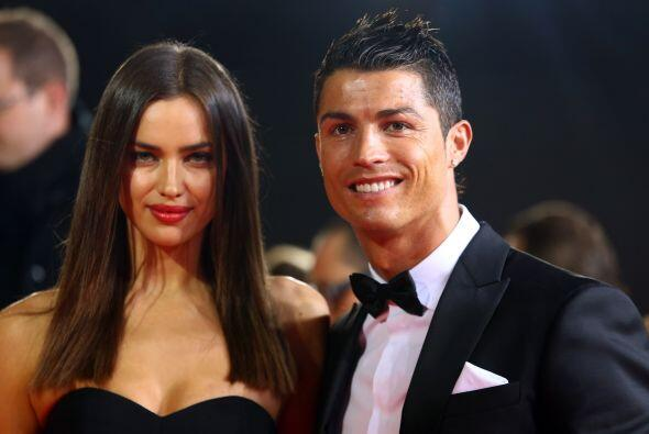 Cristiano Ronaldo ya no solo se deja ver con su novia la modelo Irina Sh...
