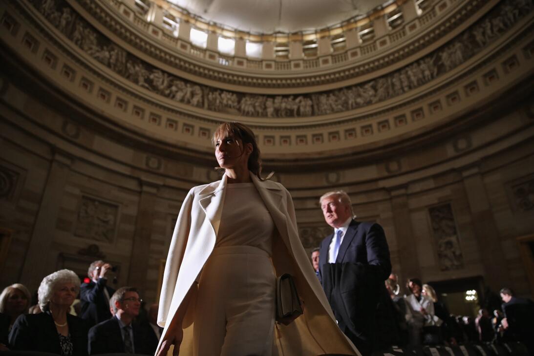 Melania Trump, una primera dama inesperada GettyImages-467433078.jpg