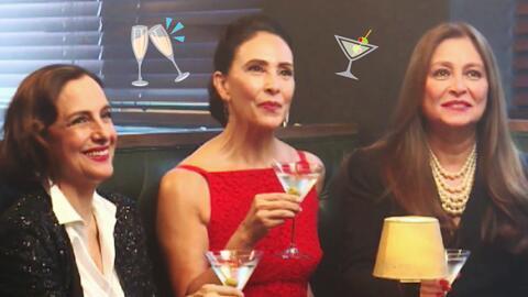 Fiesta de primeras actrices: Diana Bracho, Blanca Guerra y Daniela Romo...