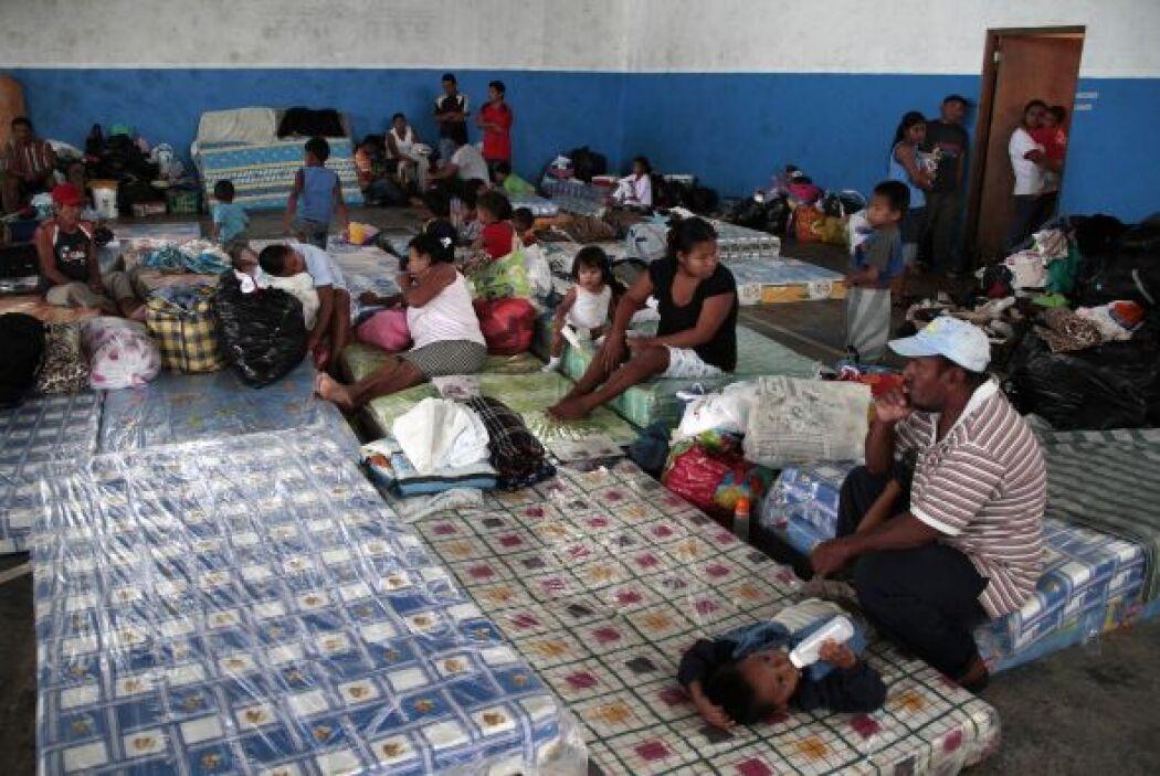 Con la pérdida de estas viviendas, unos 2,720 afectados han sido alojado...