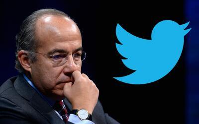 El expresidente mexicano Felipe Calderón emula a Donald Trump y u...