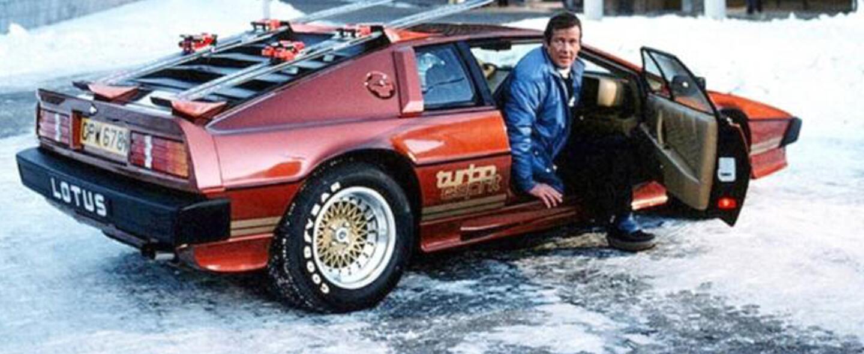 Los autos de James Bond 007 cuando fue protagonizado por Roger Moore