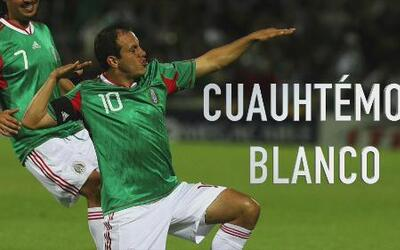 Cuauhtémoc Blanco, protagonista de varias batallas memorables entre Méxi...