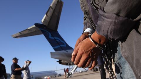 ¿A dónde serán enviados los inmigrantes deportados de Estados Unidos per...