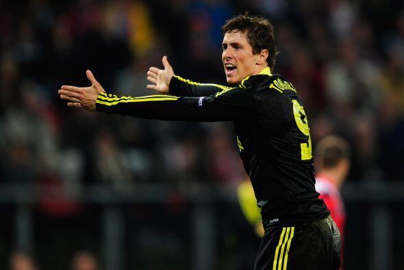En este duelo, el ariete español Fernando Torres estuvo negado co...