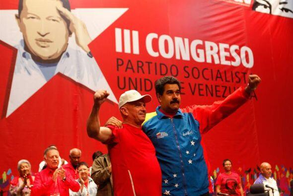 """El presidente Maduro agradeció la """"valentía"""" de los Pa&iac..."""