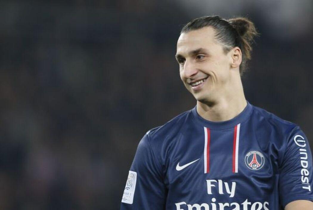 Por último, pero no menos importante, está el sueco Zlatan Ibrahimovic.