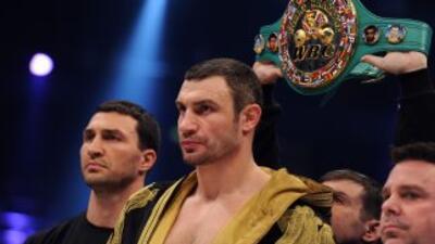 Wladimir Klitschko mandó una clara amenzada a David haye al decir que ib...