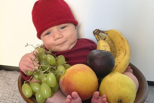 De manzana en un frutero seguro te lo comes a besos.