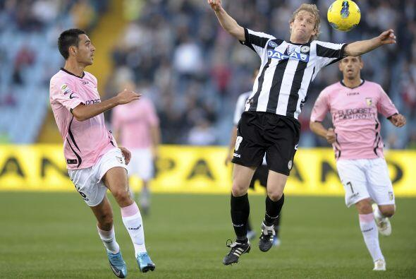 El equipo de Udine necesitaba la victoria para seguir a la caza del líde...