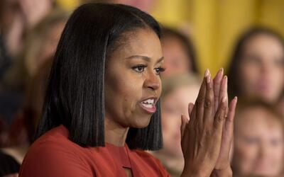 El mensaje inspirador con el que Michelle Obama lloró y se despidió de l...