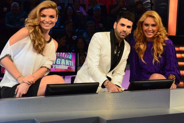 Tatiana Rodriguez, Jomari Goyso y Jimena Gallego fueron los guapos juece...