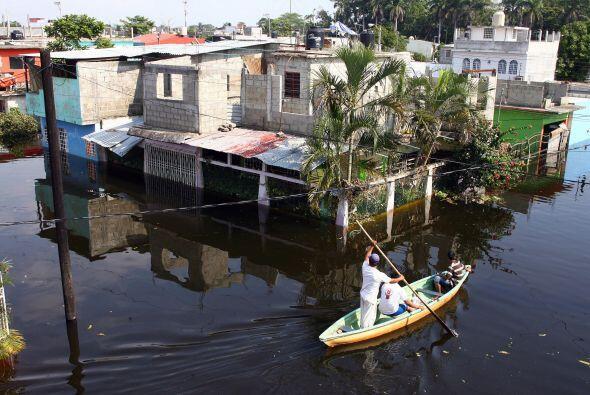 En 2007, Tabasco vivió junto a Chiapas crecidas históricas...