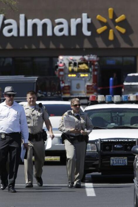 Larry Hadfield, portavoz de la Policía de Las Vegas, dijo que los hechos...