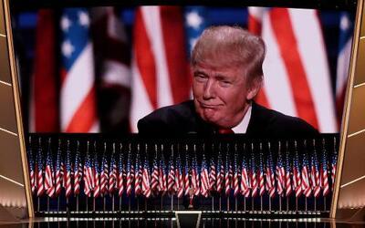 Más de 30 millones de personas vieron el discurso del magnate por televi...