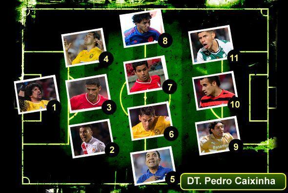 El once ideal de la jornada 11 del torneo Clausura 2014 de la Liga MX, e...