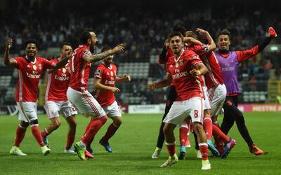 Benfica empató 2-2 con Boavista