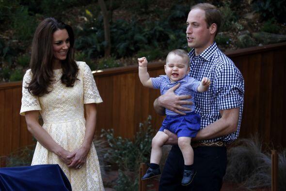 William y Kate, por supuesto, se llevaron al pequeño George Alexa...