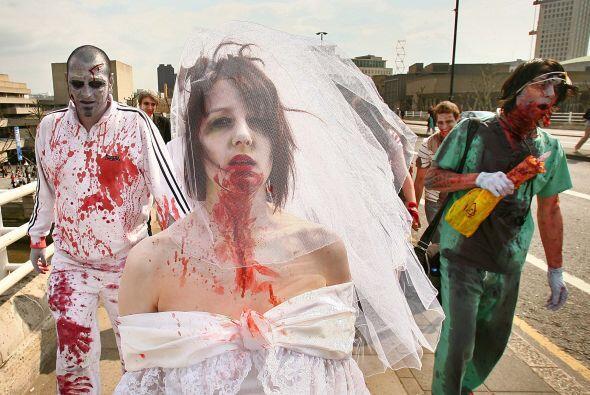 Ni vampiros, ni hombres lobo, son los zombies los que han despertado par...