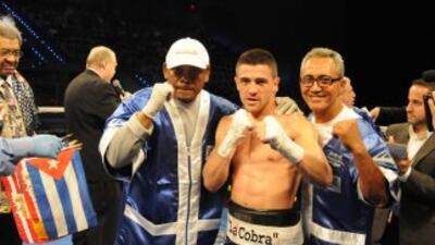 DJ, Angelo Santana y Jorge Rubio, el Team de Angelo Santana, luego de su...