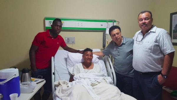 Luis Garrido se perderá un año por la lesión.