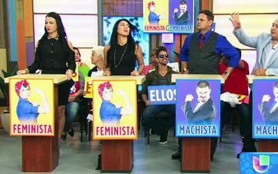 Machistas vs Feministas, ¿quién gana esta batalla?