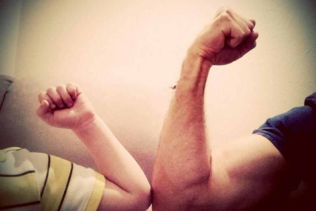 Sebastián unió fuerzas con su hijo Santiago. Y es que el galán colocó en...