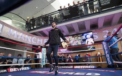 Jorge Linares campeón ligero del CMB y Anthony Crolla monarca de...