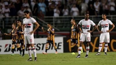 The Strongest se impuso a Sao Paulo.