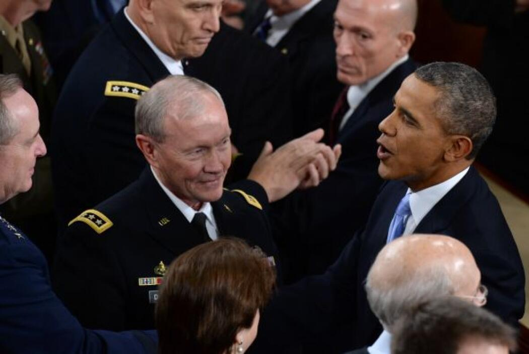 También a los miembros de la cúpula militar.