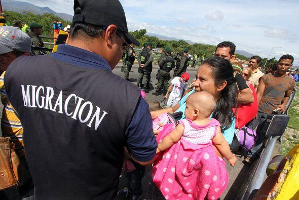 Deportación masiva de colombianos en Venezuela