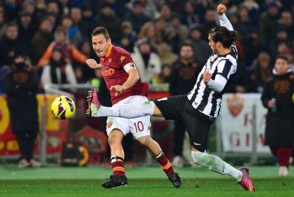 'Il Capitano' y la Roma se medían al líder de la Serie A, la Juventus.