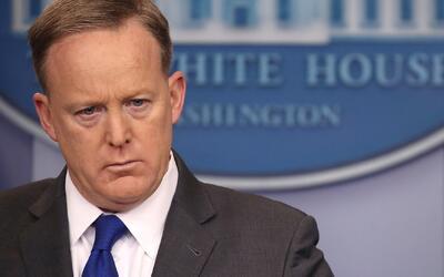 """""""Estremecedor, horroroso y chocante"""", así describe Sean Spicer la violac..."""