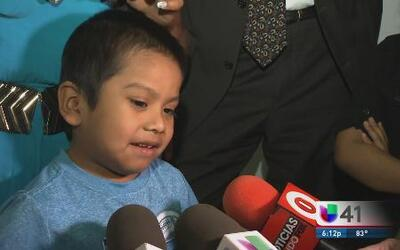 Niño de cuatro años detenido en la frontera llegó a NY