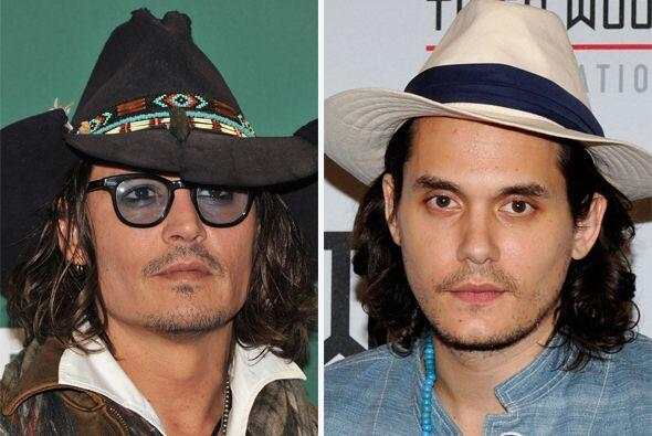 Johnny Depp y John Mayer, novio de Katy Perry, tienen la misma mirada se...