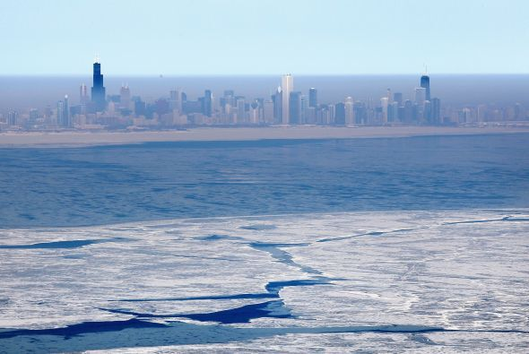 Este invierno frío, intenso y prolongado ha causado el congelamiento de...