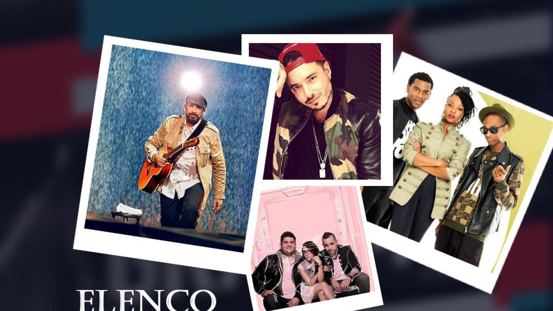 Elenco Latin GRAMMY 2015