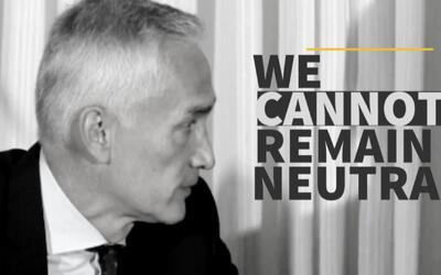 "Jorge Ramos: ""If we remain neutral with Trump, I think we are normalizin..."