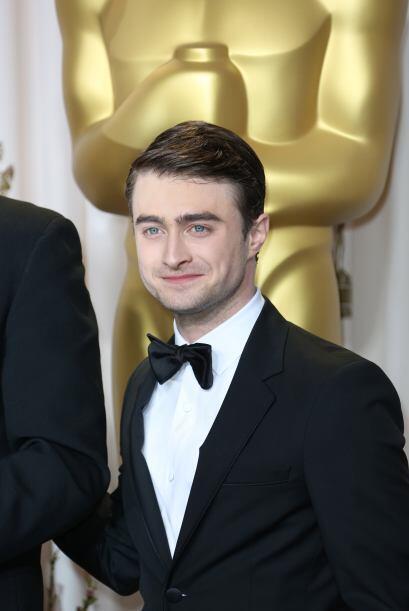 Un esmoquin negro como el del actor Daniel Radcliffe, se verá perfecto ¡...
