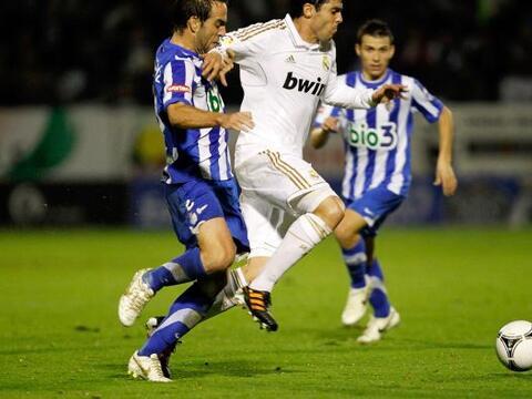 Real Madrid por fin debutó en la edición 2011-12 de la Cop...